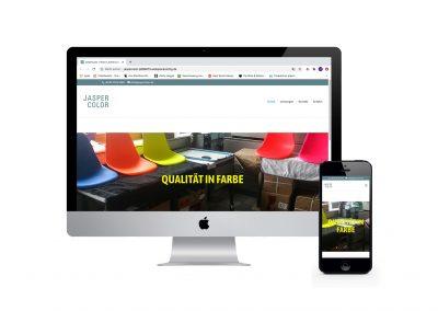 Webseite Jasper Color